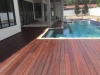 Fender Marine Construction Brazilian Hardwood Pool Deck