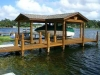 Fender Marine Construction Gold Dock and Boathouse