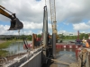 Fender Marine Construction Water Jetting Concrete Pile